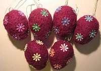 Ostereier-lila
